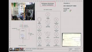 SEC01-Schéma électrique chaud - brûleur vieille installation dépannage retour expérience