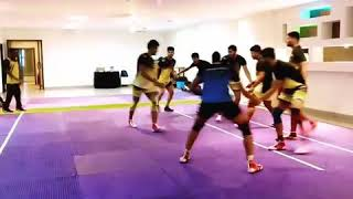 Telugu titens work out for pro Kabaddi 6