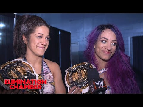 Xxx Mp4 Sasha Banks Bayley Vow Their Big Win Is Only The Beginning WWE Exclusive Feb 17 2019 3gp Sex