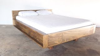 DIY Mid Century Modern Bed   Modern Builds   EP. 22