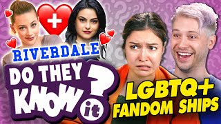 Do YOU Know LGBTQ+ FANDOM SHIPS? (Riverdale, Avengers, Star Wars) | Do They Know It? (React)