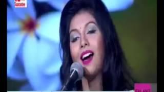 Program -Shondhar Meghmala SA TV by LABONNO song-amar aponar cheye Nazrul