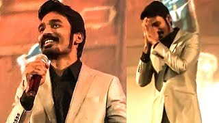 MASSIVE RESPONSE: Dhanush Sings Along With the Crowd in Paris