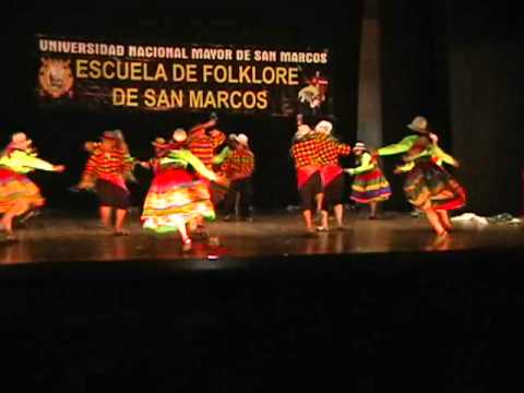 Danzas del Perú Sara LLankay Apurimac