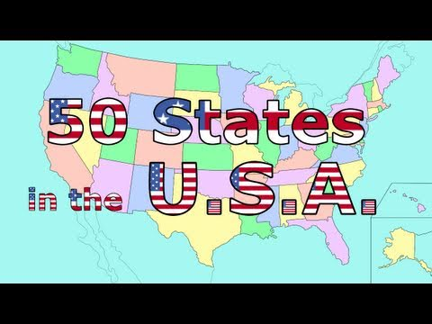 watch The 50 States Song
