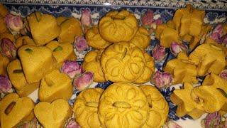 آموزش شیرینی نخود چی شیرینی سنتی ایران با تمام ریزه کاری هایش از مامان تی وی (پروانه جوادی)