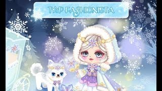 LINE Play - Top Fashionista Snow Queen Invitation Fashion (this is late i know)