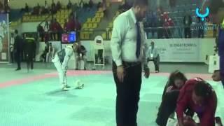 لحظة وفاة لاعب تركي في بطولة العالم للتايكوندو بمصر