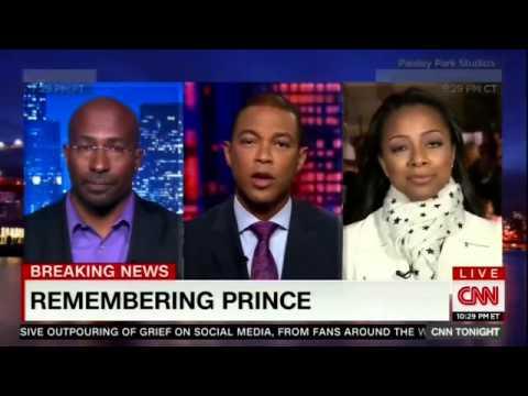 CNN Tonight With Don Lemon Van Jones on Prince s humanitarianism