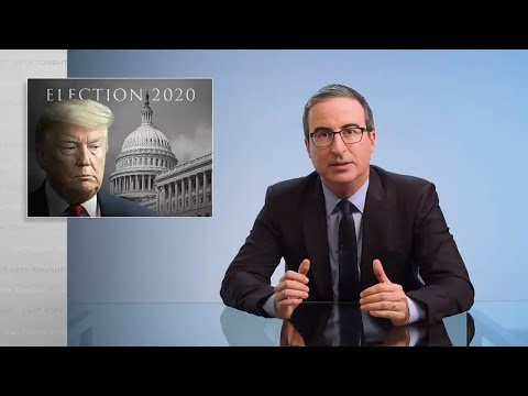 Trump & Election Results Last Week Tonight with John Oliver HBO