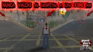 Nunca vayas al Hospital a las 3:00 AM [Creepypasta] - Loquendo - Gta san andreas 2018