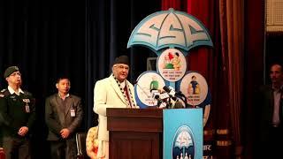 प्रधानमन्त्रीको रमाइलो भाषण,सरकारले सिन्का भाँच्ने र माख्खो मार्ने काम गर्दैन,K P Oli Latest Speech