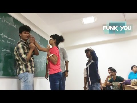 watch VIOLENCE IN CLASSROOM Social Experiment (Prank in India)