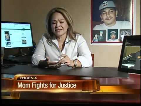 Valley mother in search of her son's killer