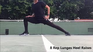 Dinamis Stretching Cabang Olahraga Anggar by Coach Sigy Kanadela #PKOFIKUNESA