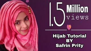 everyday hijab tutorial for school collage work place safrin prity
