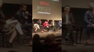Aziz Ansari Harassed by Woman during Master of None Q&A