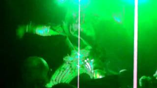 Rob Zombie monster on stage w big head.MOV