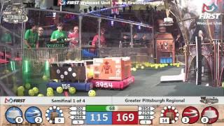 Semifinal 1 - 2017 Greater Pittsburgh Regional