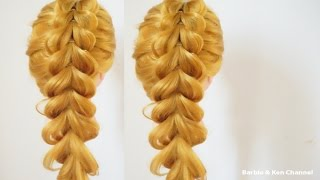 ถักเปียสวยๆ แบบง่ายๆ : Cute and Easy Braid [Ep.3] #hair Everyday hairstyle for long hair.
