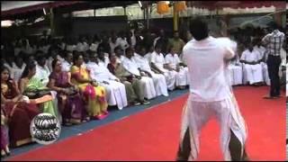DMDK Vijayakanth Style of Pongal Celebrations - Dinamalar Jan 18th 2014 Tamil Video