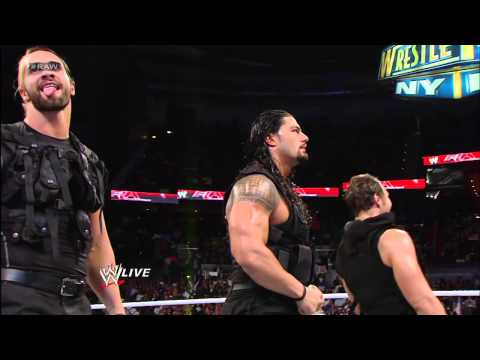 Xxx Mp4 After The Shield Attacks Brad Maddox John Cena Sheamus And Ryback Send Them Running For Cover Raw 3gp Sex