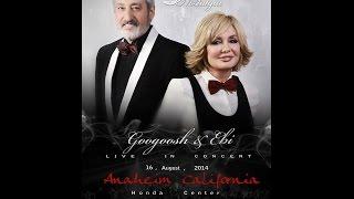 Ebi and googoosh concert 2