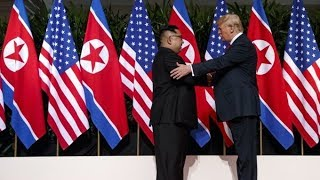 Donald Trump holds news conference after historic meeting with North Korea