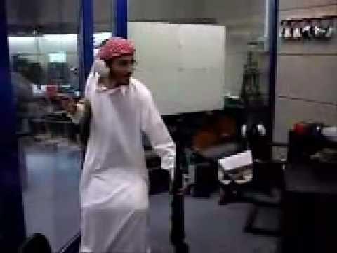 Arabes testando arma T REX