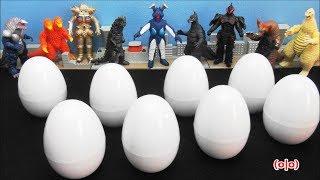 Ultraman Ultra Egg Ginga Taro Zero Mebius Victory Seven Ultra Monsters ULTRA RIBUT   BANDAI