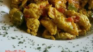 وصفة اسهل و الذ حشوة فطائر رمضان  بالدجاج و الخضار