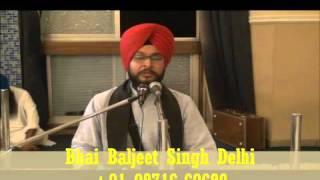 """ਸੁਖਮਨੀ ਸਾਹਿਬ ਦੀ ਤੁੱਕ """"ਸੁਖੀ ਬਸੈ ਮਸਕੀਨੀਆ"""" ਦਾ ਜਦੋਂ ਰਾਗੀ ਸਿੰਘ ਨੇ """"ਮਜ਼ਾਕ"""" ਬਣਾ ਦਿੱਤਾ...Baljeet Singh Delhi"""