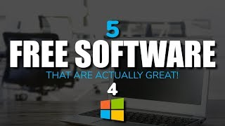 5 Free Software That Are Actually Great! 4 (2017)
