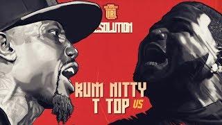 T-TOP VS RUM NITTY RAP BATTLE   URLTV