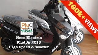 Hero Photon 2018 Electric Scooter : Preview