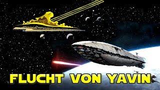 Wie die Rebellen von Yavin IV fliehen konnten - Star Wars Basis
