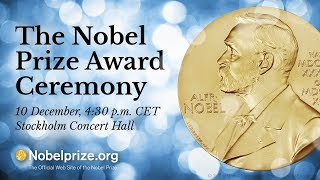2017 Nobel Prize Award Ceremony
