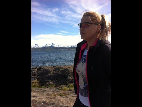 Adriana i lato za kołem podbiegunowym- Norwegia-Bodo-22-05-16