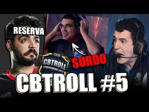CBTROLL #5   BRTT NA RESERVA & PROFESSOR DEIXANDO JUIZ SURDO