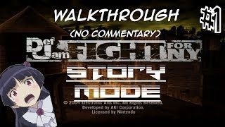 Def Jam: Fight For NY - STORY MODE (Part 1)