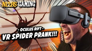 Oculus Rift - VR SPIDER PRANK!!!
