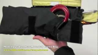 Firefighter Escape System Carry Bag 556 Hip Bag and 557 Lumbar Bag