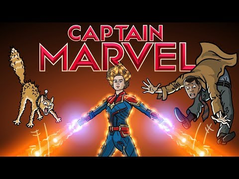 Captain Marvel Trailer Spoof TOON SANDWICH