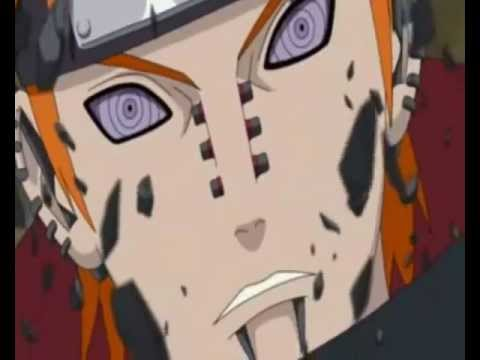 Naruto vs Pain Full Fight Down with the Sickness