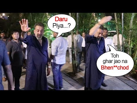 Xxx Mp4 Sanjay Dutt S FUNNY Moments With Reporters At Diwali Party 2018 3gp Sex