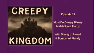 Episode 13 - Must Do Creepy Disney & Maleficent Pin Up with Stacey J. & Bombshell Mandy