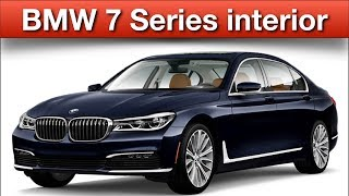 BMW 7 series interior| 2018| 760i xdrive| price| features| technology| review| usa| india | Cargurus