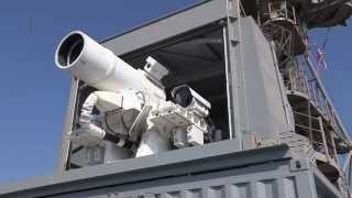 سلاح لیزری نیروی دریایی امریکا TechPack E01S01