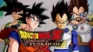 DBZ BT3: Goku & Bardock vs Vegeta & King Vegeta (Live Commentary)