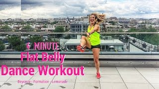 4 Minute Flat Belly Dance Workout - Beyonce Formation Lemonade Teaser